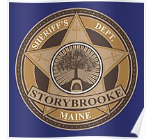 Once Upon a Time - Storybrooke Sheriff's Dept. Poster