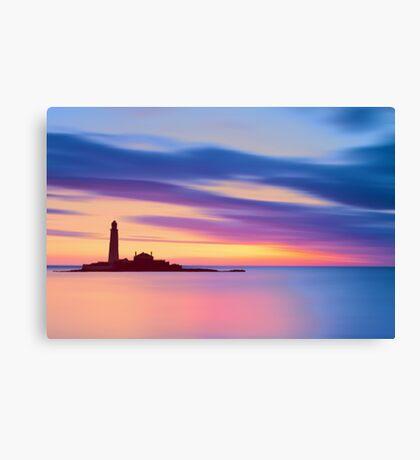 Lighthouse Dusk Canvas Print