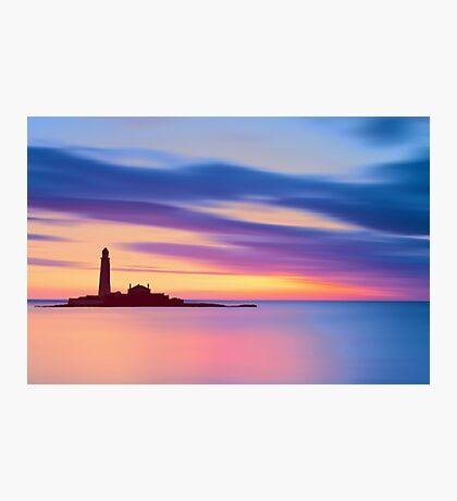 Lighthouse Dusk Photographic Print