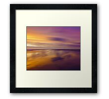 Lilac Evening Framed Print
