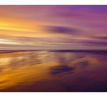 Lilac Evening Photographic Print
