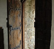 ajar chapel door by simonecoleman