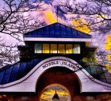 Noddle's Island Pavilion, East Boston  Sticker