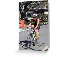 Kingscliff Triathlon 2011 #591 Greeting Card
