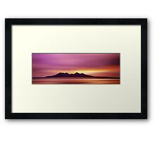 Magical Island Framed Print
