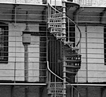 Spiral Staircase, Panopticon, Kilmainham Gaol, Dublin Sticker