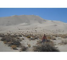 Looking At The Dune Photographic Print