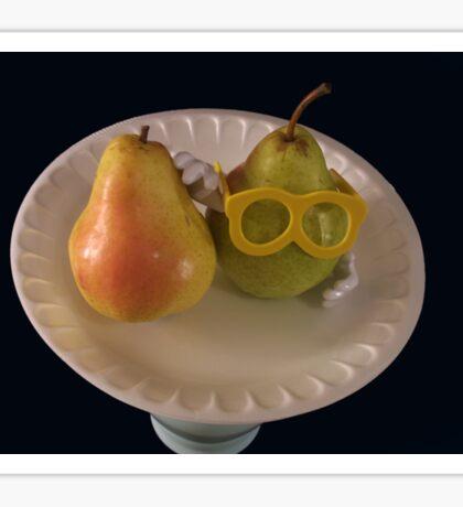 Pear Parody .07 Sticker