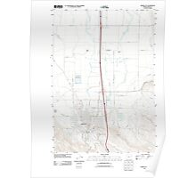 USGS Topo Map Oregon Baker City 20110831 TM Poster