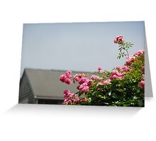 Nantucket Flowers Greeting Card