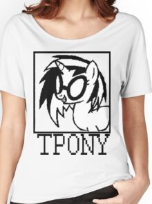 Tpony Women's Relaxed Fit T-Shirt