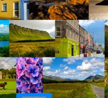 The colours of Ireland Sticker