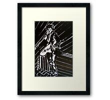 Muse Live  Framed Print