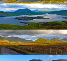 panoramic Ireland Sticker
