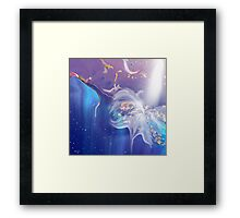 I'm alive- Abstract Framed Print