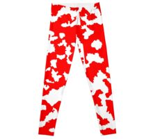 Red Paint Leggings