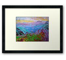 Landscape-Shangrila Framed Print