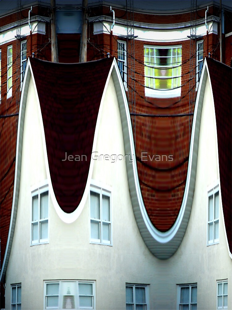 Above March Hare's House by Jean Gregory  Evans