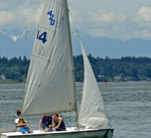 South Puget Sound Sailing Sticker