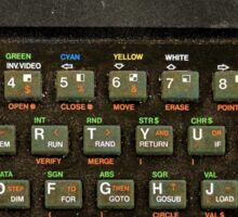 The ZX spectrum Sticker