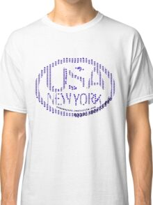 usa new york stars by rogers bros Classic T-Shirt