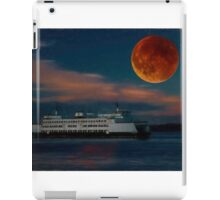 And the Ferry Jumped Under the Moon iPad Case/Skin