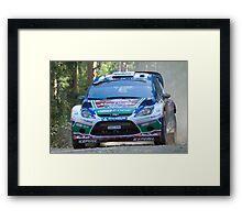 Jari-Matti Latvala , WRC Rally Australia 2011  Framed Print