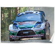 Jari-Matti Latvala , WRC Rally Australia 2011  Poster
