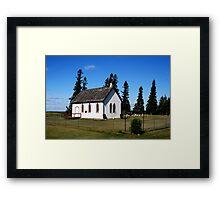 All Saints-Ironview Church Framed Print