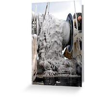 Ice  ~  Commercial Fishing Vessel  Greeting Card
