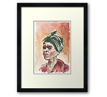 The Essence of Africa - Ethnic series Framed Print