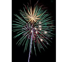 Colorful Fireworks Photographic Print