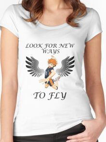 Look For New Ways To Fly Women's Fitted Scoop T-Shirt