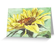 Symbol of Adoration - Sunflower Greeting Card