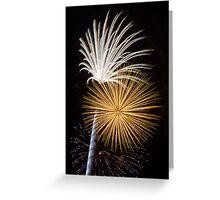 Brilliant, Dazzling Fireworks Greeting Card