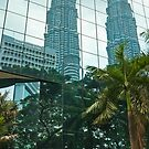 Reflecting Towers by Werner Padarin