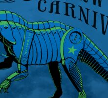 Clockwork Carnivore (Blue EUPARKERIA-TYPE) Sticker