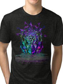 Cyan Conciousness Tri-blend T-Shirt