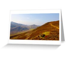 Overlooking Beauty Greeting Card
