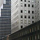 New York Midtown Skyscrapers by Jane McDougall