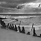 Dicky Beach Wreck by gmpepprell