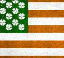 Irish American 015 Sticker