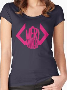 He is very, VERY hungry. Women's Fitted Scoop T-Shirt