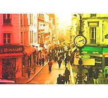 MONTMARTRE-PARIS Photographic Print