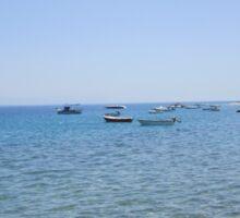 Greek coastline Sticker
