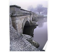 Ross Bridge on a Misty Morning Poster