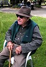 """100 Years Old - Wears Eddie Bauer"" by waddleudo"