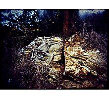 Splitrock Photographic Print