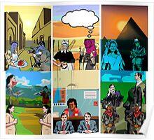 Triptych triptych Poster