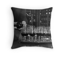 Cable Bay Wine Tasting Throw Pillow